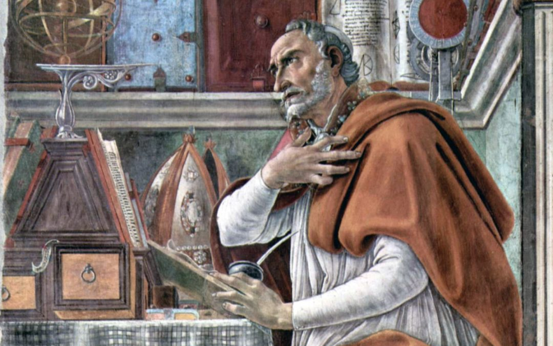 """Fr. Malcolm & St. Augustine's """"Confessions"""": Outline Week 2"""
