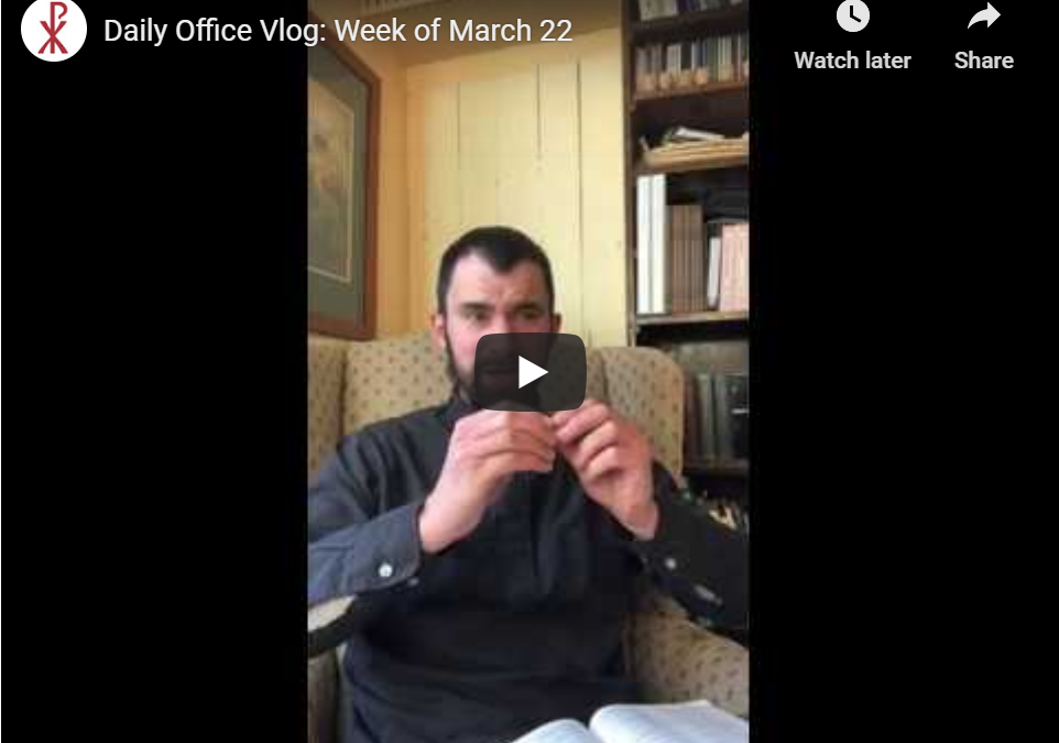 The Daily Office Vlog