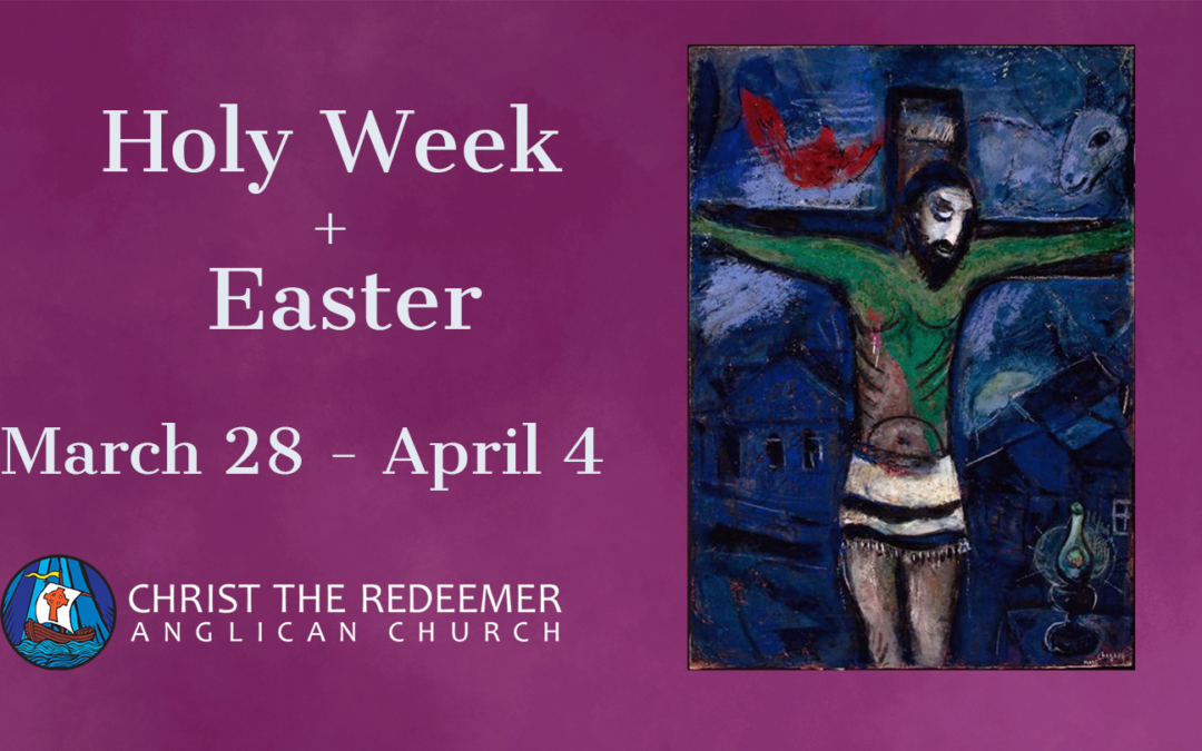 Palm Sunday and Holy Week on the Green!